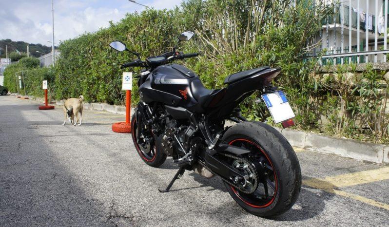 Yamaha MT 07 Depotenziata 35 KW completo