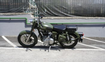ROYAL ENFIELD BULLET CLASSIC BATTLE GREEN completo